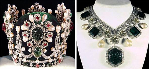 корона и колье императрицы Фарах