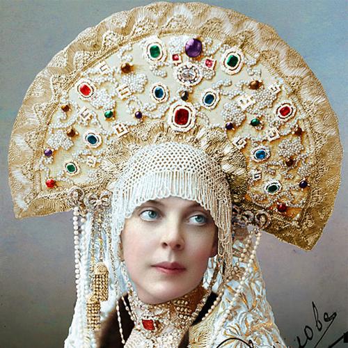 Портрет графини Ольги Константиновны Орловой, 1905 год