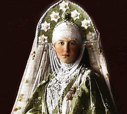Великая княгиня Мария Георгиевна, урожденная принцесса Греческая и Датская, супруга великого князя Георгия Михайловича