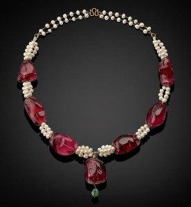 еimperia lspinel pearl necklaces