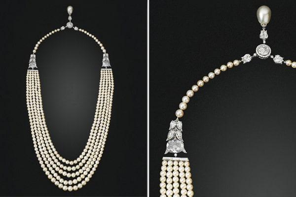 five strands necklaces-2