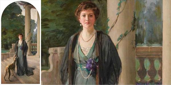 portrait of Baroness Gerda von Chappu