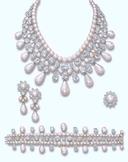 gulf pearl parure